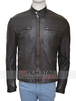Captain America Civil War Chris Evans Classic Leather Jacket