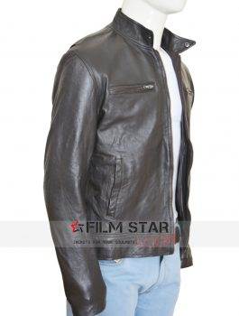 Chris Evans Civil War Leather Jacket