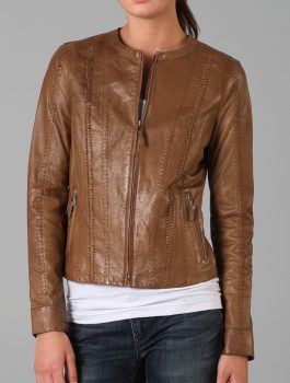 Rizzoli-and-Isles-Sasha-Alexander-Leather-Jacket