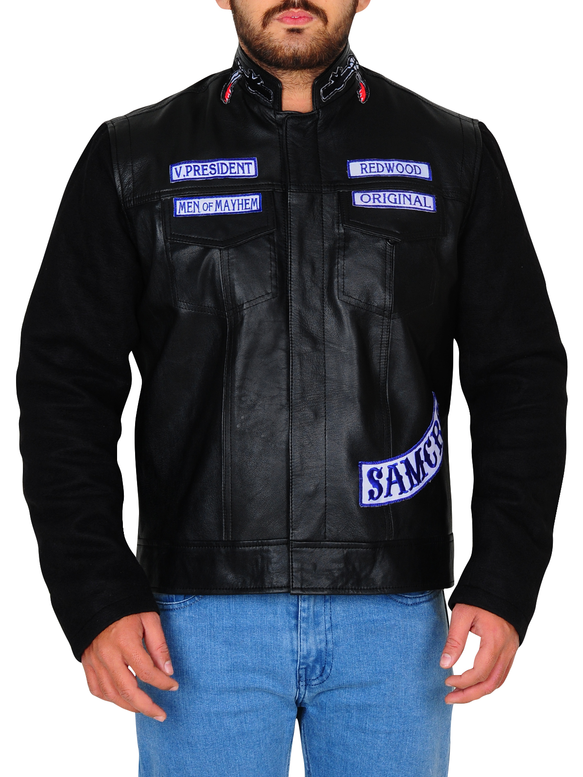 Sons of Anarchy Biker Leather Jacket