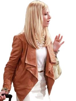 Caroline Channing Leather Jacket, Women Jacket