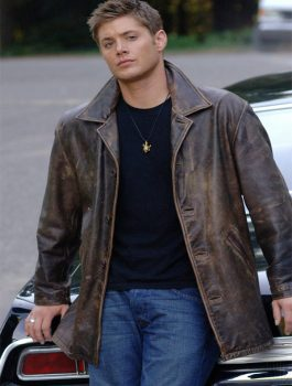 Dean Winchester Supernatural Distressed Jacket