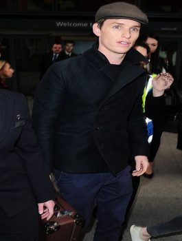 Eddie Redmayne Oscar Cotton Jacket