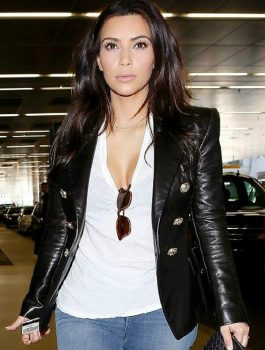 New Kim Kardashian Paris Airport Jacket