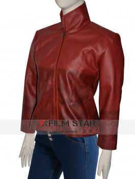 The Avengers Age of Ultron Elizabeth Olsen Scarlet Witch Jacket