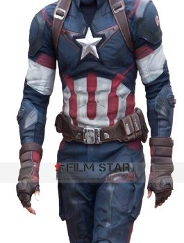 Avengers Age OfUltron Captain America Jacket