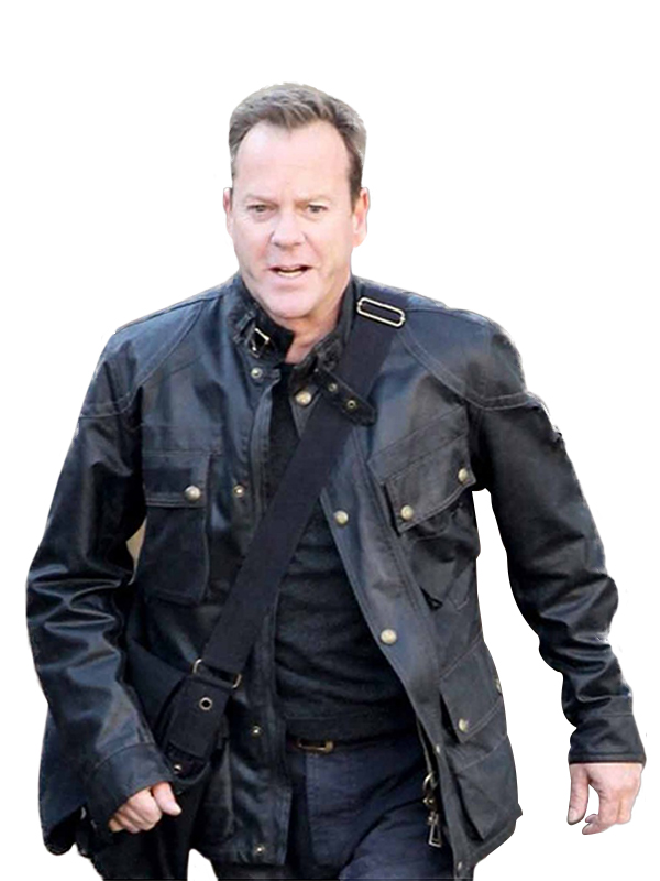 Jack Bauer Leather Jacket, Jacket For Men