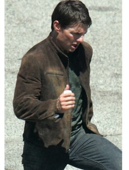 Mission Impossible Suede Jacket