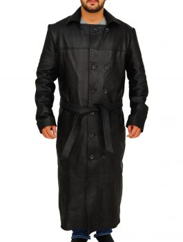 Brandon-Lee-The-Crow-Black-Leather-Coat