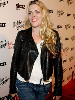Busy Philipps Black Jacket