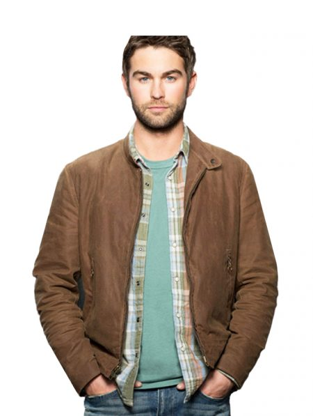 Chace Crawford Blood & Oil Jacket