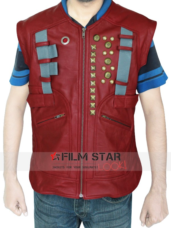 Chris Pratt Star Lord Guardians Of The Galaxy Vest