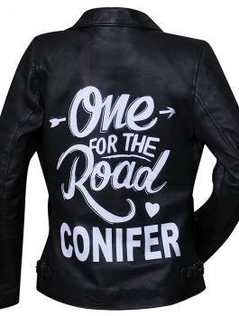 One For The Road Alex Turner Conifer Leather Jacket