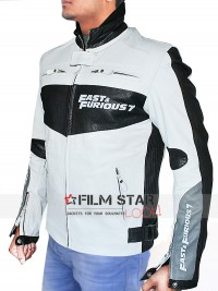 Fast And Furious 7 Premiere Vin Diesel Leather Jacket