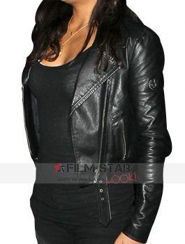Furious 7 Trailer Michelle Rodriguez Jacket