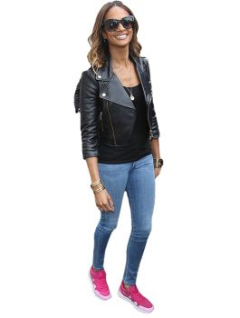 Leather Jacket,Black Leather Jacket For Women