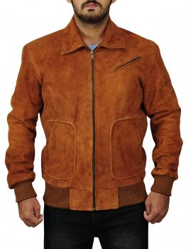 U.N.C.L.E Suede Leather Jacket