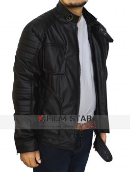 Malcolm Merlyn Leather Jacket
