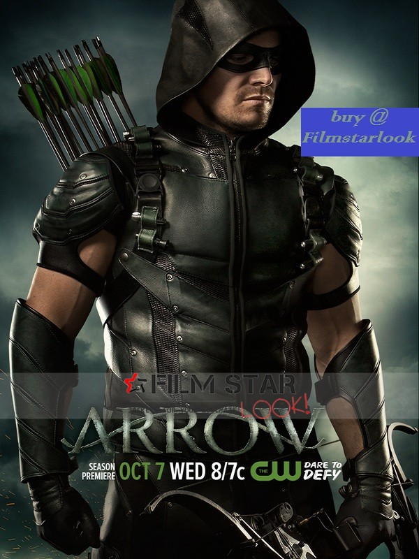 Arrow Series John Diggle Season 4 Leather Jacket