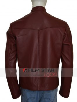 Teddy Sears The Flash Jay Garrick Leather Jacket