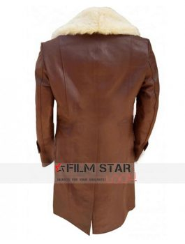 Ron Anchorman 2 Burgundy Trench Coat