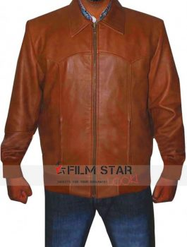3 Days to Kill Kevin Costner Leather Jacket