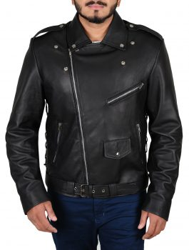 WWE-Triple-H-Leather-Jacket