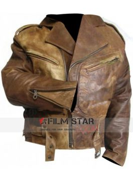 Wesley Snipes Passenger 57 John Cutter Leather Jacket