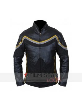 Will Smith Hancock Black leather Jacket