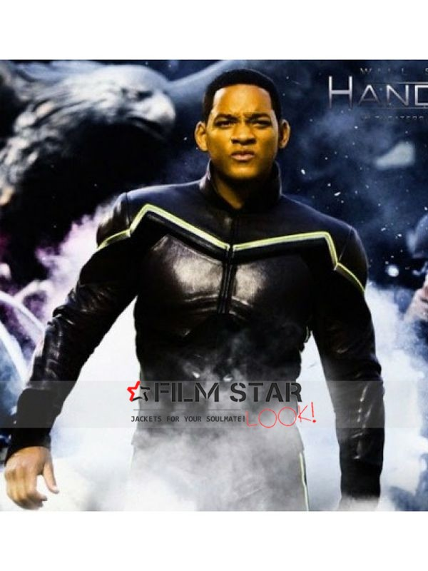 JOHN HANCOCK WILL SMITH LEATHER JACKET