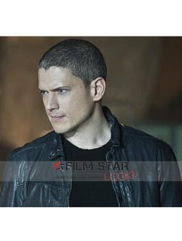 The Flash Captain Cold Leather Jacket