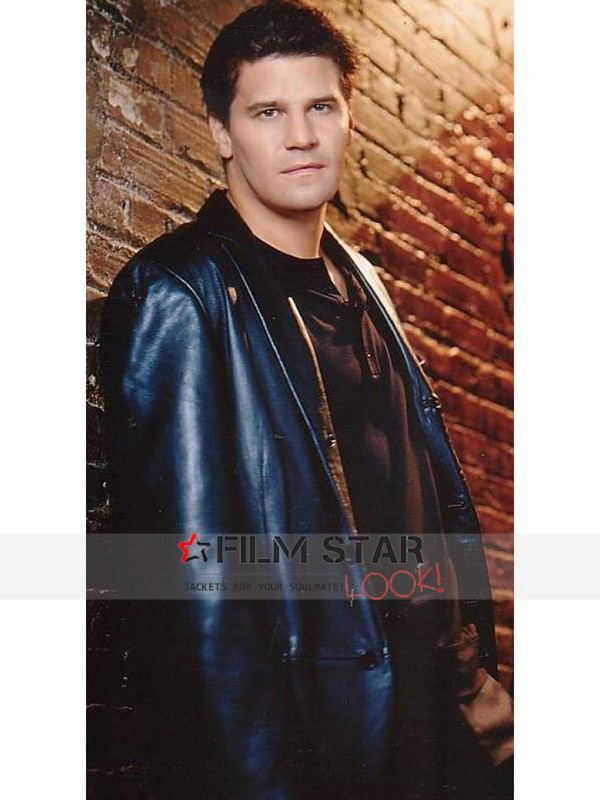 Angel David Boreanaz Coat
