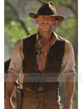 Aliens Daniel Craig Geniune Leather Vest