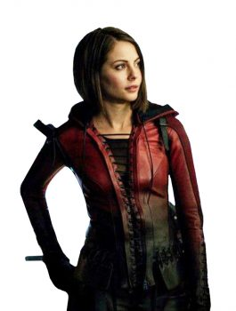 Arrow Season 4 Thea Queen Leather Jacket
