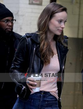 Vaniyl Olivia Wilde black jacket