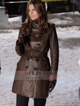 TV Series Castle Kate Beckett Coat