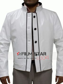 Ken Jeong Hangover 3 Chow White Leather Jacket