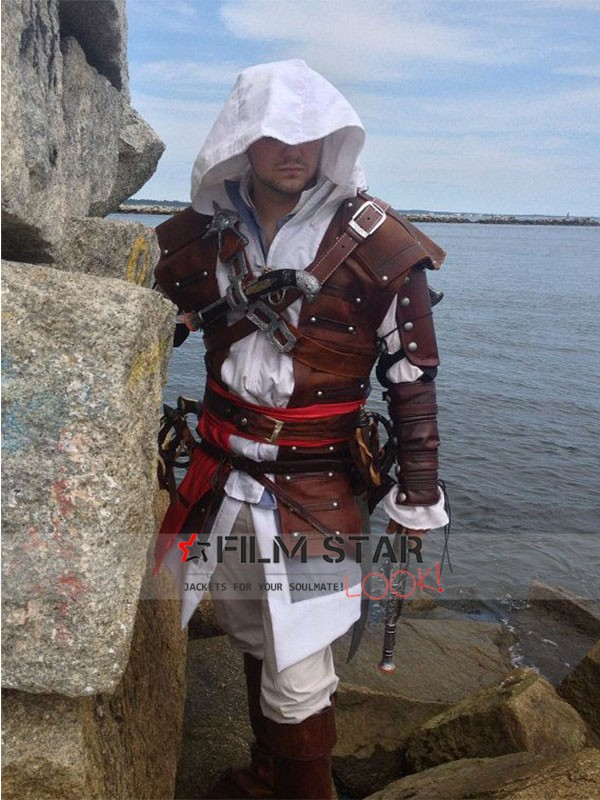 Edward Kenway Assassin S Creed Costume Coat Film Star Look
