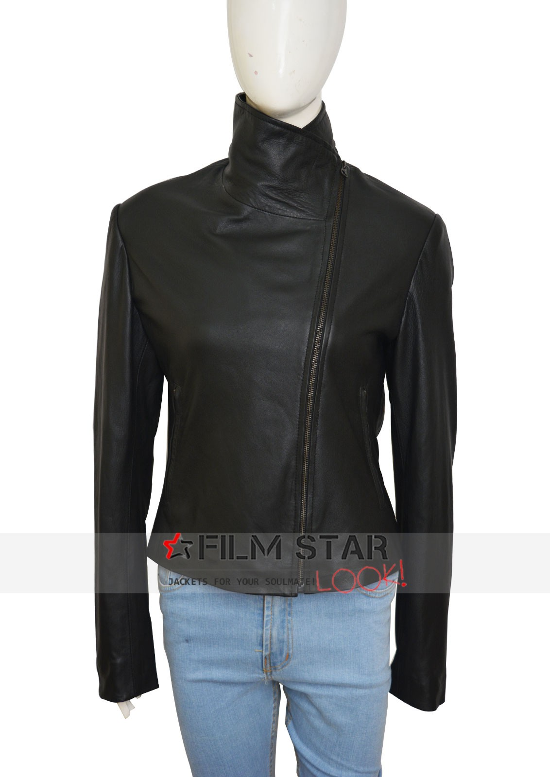 Defiance Amanda Rosewater Black Leather Jacket