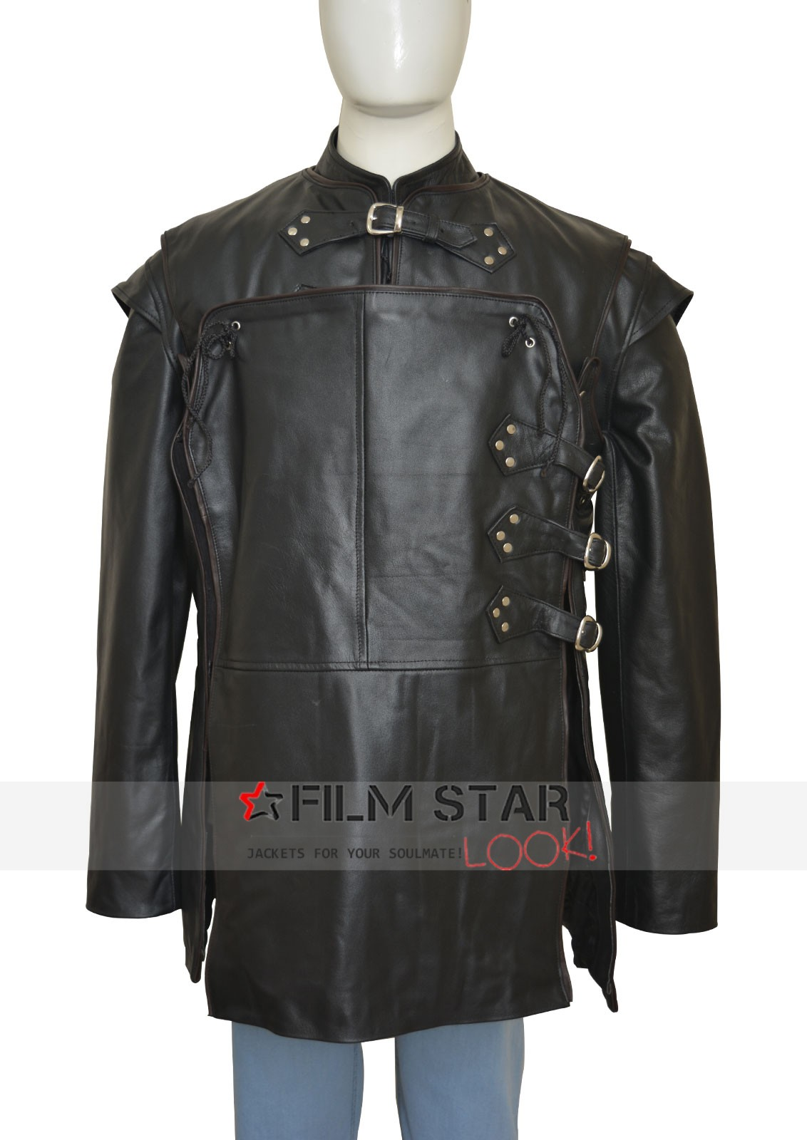 Game Of Thrones Jon Snow Kit Harington Leather Jacket