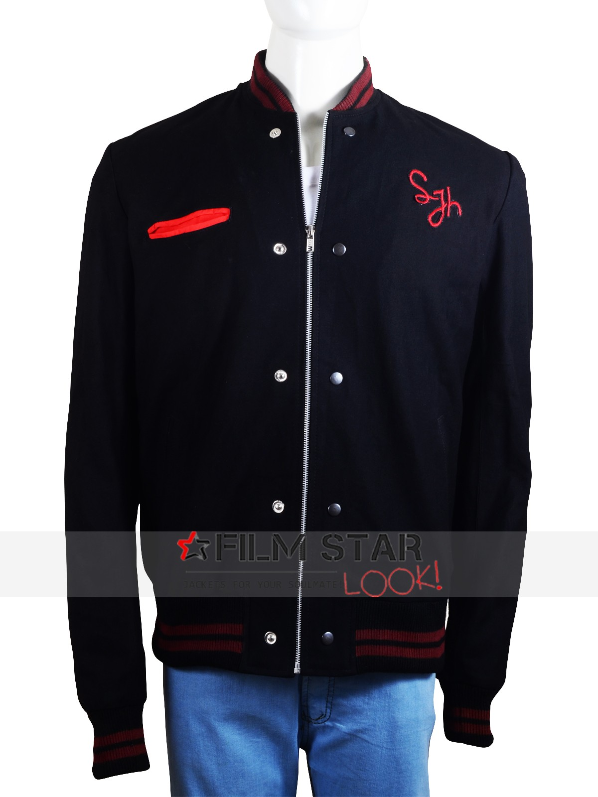 Roadies TV Series Bill Varsity Cotton Fabric Jacket