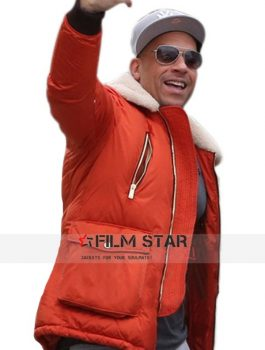Triple X Vin Diesel In Red Jacket