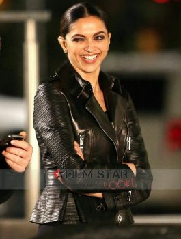 XXX Return of Xander Cage Deepika In Black Jacket