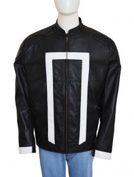 Agents of Shield Black Leather Jacket