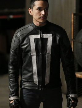 Agents of Shields Ghost Rider Jacket