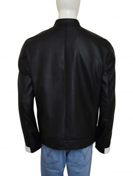Ghost Rider Agents of Shields Black Leather Jacket