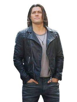 Blair Redford TV Series The Gifted Leather Jacket