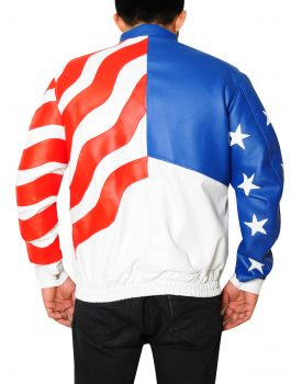 Vanilla Ice American Flag Leather Jacket (4)