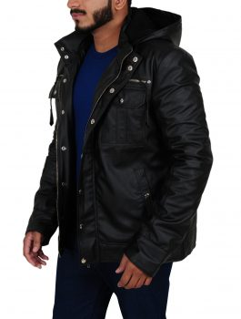 Bill Goldberg Black Hoodie Jacket