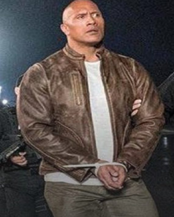 Dwayne-Johnson-Rampage-Leather-Jacket